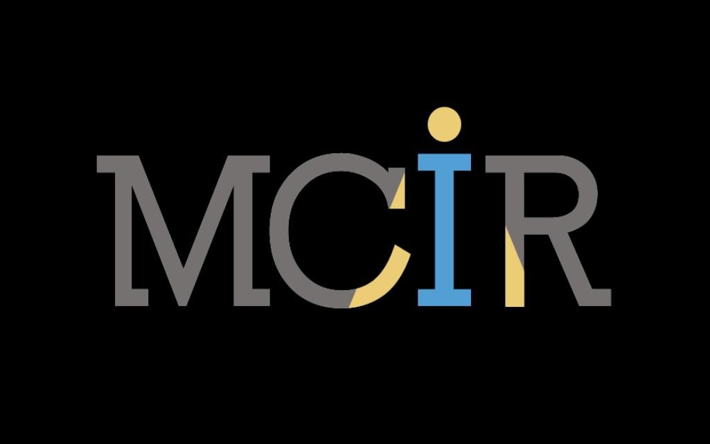 "Mississippi Center for Investigative Reporting ""MCIR"" logo"